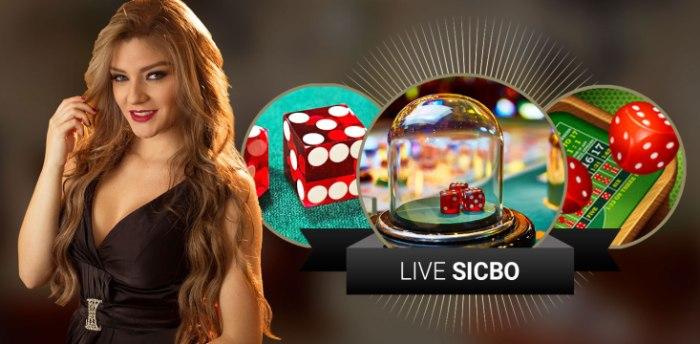 Cara Bermain Live Sicbo