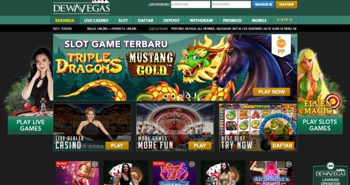 DewaVegas - Bandar Casino Online