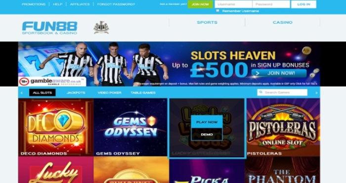 Fun88 Casino - Bandar Casino Online Terpercaya