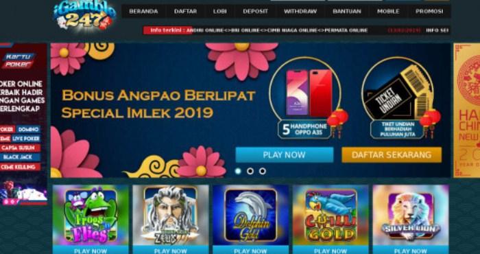 iGamble247 – Bandar Casino Online Terbaik